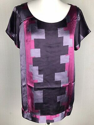 Ladies Next Top Size 20 BNWT Purple Pink Summer Evening Party Cruise Smart