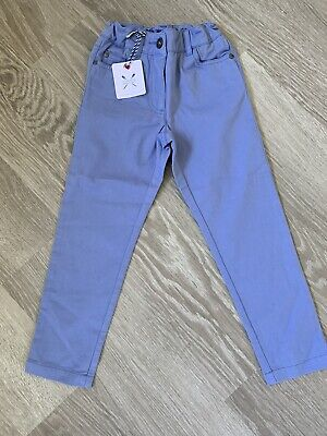 Bnwt Girls CREW CLOTHING Pale Blue Jeans Trousers Age 5
