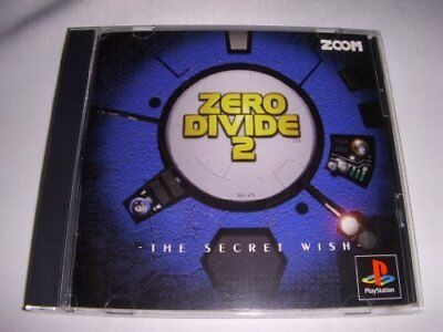 UsedGame PS1 PS PlayStation 1 ZERO DIVIDE 2