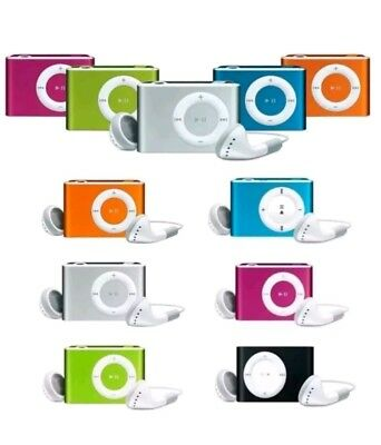 Mp3 Player Ipod Nano Style Gift Idea Headset Memory Up To 2.4.8.16.32Gb
