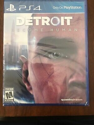 Detroit Become Human (PS4) BRAND NEW/ Region Free! Factory Sealed! Fast Shipping
