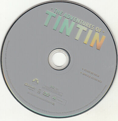 The Adventures of Tintin DVD DISC ONLY