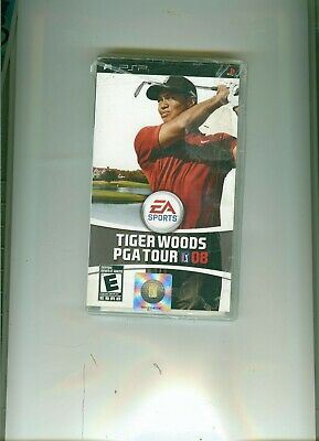 Sony PSP videogame: Tiger Woods PGA Tour 08 - NEW and sealed