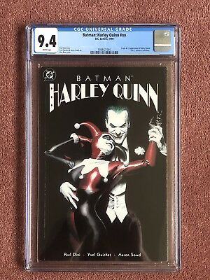 Batman Harley Quinn Cgc 9.4 1St Origin 1St Appearance Classic Cover Dc Key Issue