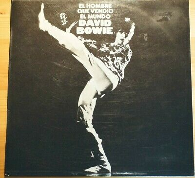 DAVID BOWIE Man Who Sold The World LP Vinyl SPANISH 1972 LSP4816 A2N/B2N EX/EX