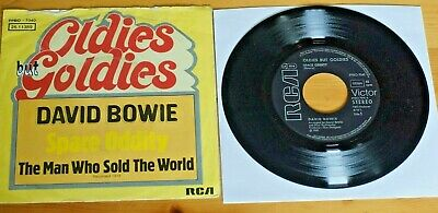 David Bowie Space Oddity/Man Who Sold RCA 7in 45RPM EX BO7040 GERMANY