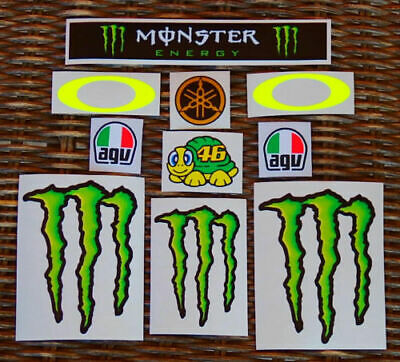 ** New 2019 ** Valentino Rossi Aufkleber Helmet Sticker Decal Kit Visor