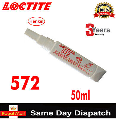 LOCTITE 572 50ml /577/290/638/648/ THREADLOCK ADHESIVE GLUE 10ml/ 20 250 300 ML