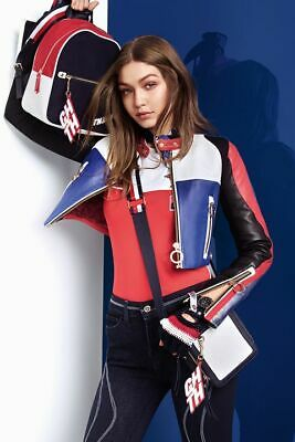 983c2ce81 TOMMY HILFIGER X GIGI HADID CROPPED BOMBER, Red, XS - $249.00 | PicClick