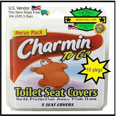 Astonishing Charmin To Go Toilet Seat Covers 5 Ea Pack Of 10 9 95 Onthecornerstone Fun Painted Chair Ideas Images Onthecornerstoneorg