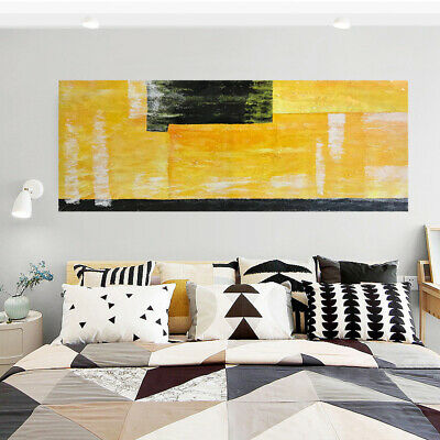 Abstract Hand Painted Modern Oil Painting Stretched On Canvas Wall Art Decor
