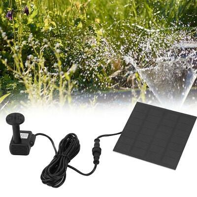 Solar Power Water Pump Panel Kit Fountain Pool Garden Submersible Watering