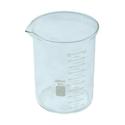 HFS(R) 2L Graduation Glass Beaker with Spout