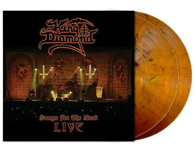 King Diamond - Songs For The Dead Live, Orange-Brown/Black Marbled 2Lp, 024/300!