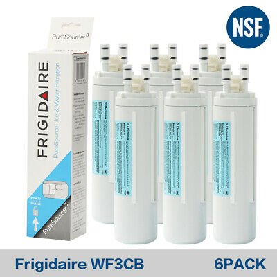 1~6PC Frigidaire WF3CB Puresource3 242069601 706465 Fridge Water Filter Genuine