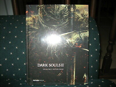 Dark Souls II collectors edition strategy guide Future Press NEW & SEALED dents