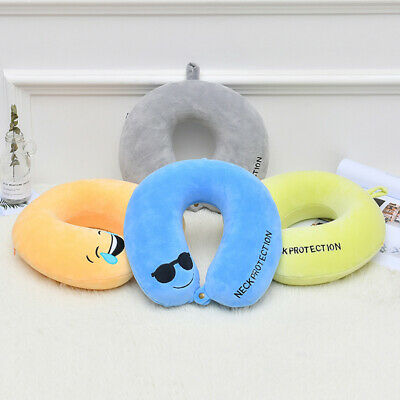 Cute U Shaped Memory Foam Neck Pillow for Travel Office