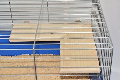 Wooden Corner Shelf for Cage Hamster Gerbil Rat Degu Mice Small Animal  30x30cm