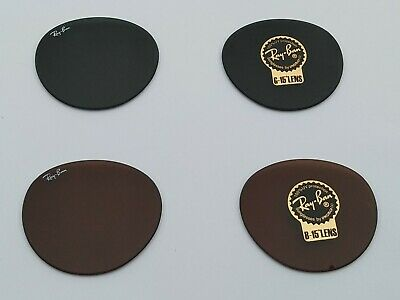 New RayBan RB4246 / RB4346 Clubround Replacement lenses 100% Authentic 51mm