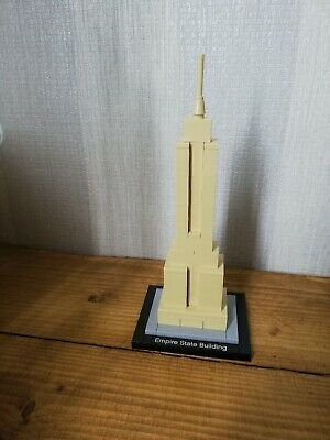 VGC Lego Architecture 21002 Empire State Building With Free Micro NY Taxi
