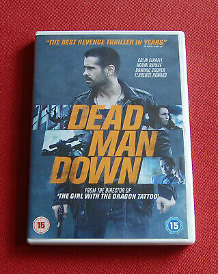 Dead Man Down - Region 2 DVD - Colin Farrell, Noomi Rapace, Terence Howard
