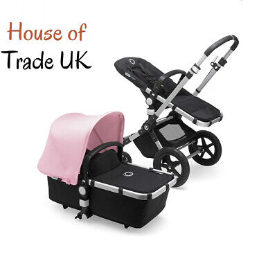 Bugaboo Cameleon 3 Plus, 2 In 1 Pram and Pushchair with Reversible Black