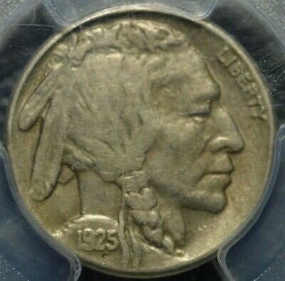 1925-S Buffalo Nickel PCGS VF 25 ( Part of complete collection )