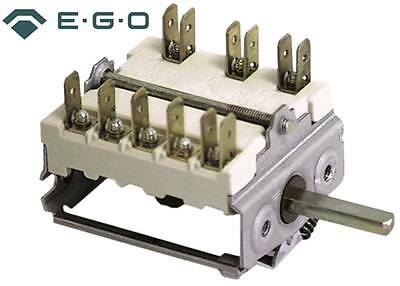 Ego Cam Switches 3-pin Axle Ø 6x4, 6mm Connection Faston 6,3mm Selector Switch