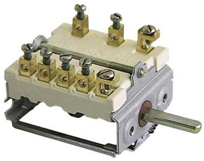 Ego 49.23815.787 Cam Switches 3-pin Axle Ø 6x4, 6x23mm 4 Positions