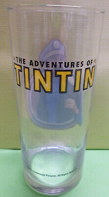 "Collector ,  Verre A Eau ,  "" The Adventures Of Tintin "" , 30 Cl ,T3  *"