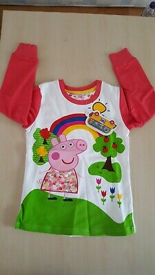 New For Girls Cosy And Thick Cotton Peppa Pig Jumper in Different Sizes