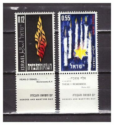 s30084) ISRAEL MNH** 1962 Heroes day 2v