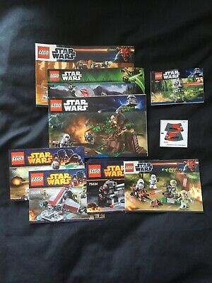 Lego Star Wars Instruction Booklets