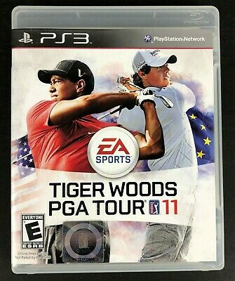 Tiger Woods PGA Tour 11 (Sony PlayStation 3 PS3, 2010) Complete and Tested
