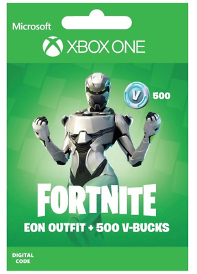 Fortnite Eon Skin Outfit Bundle Xbox One + 500 V-Bucks