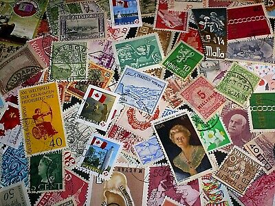 1000 Worldwide Stamps From Huge Collection Free Shipping