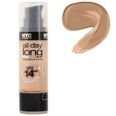 NYC All Day Long Foundation Warm Beige