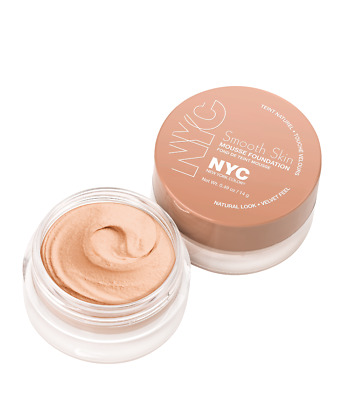 NYC Smooth Skin Mousse Foundation 702 Natural Rose