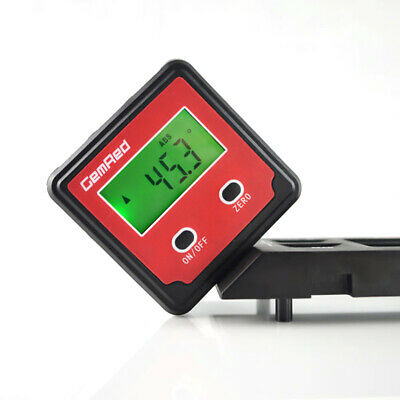 GemRed Backlight Digital Level Box Protractor Angle Finder Gauge Magnetic R6M3