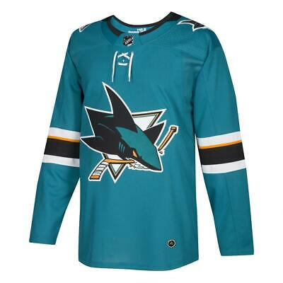 Authentic San Jose Sharks Jersey Adidas Home Jersey NHL