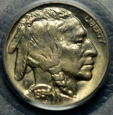 1934-D Buffalo Nickel PCGS MS 64 ( Part of complete collection )