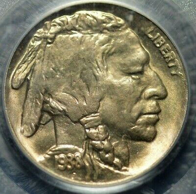 1938-D/D Buffalo Nickel PCGS MS 65 ( Part of complete collection )