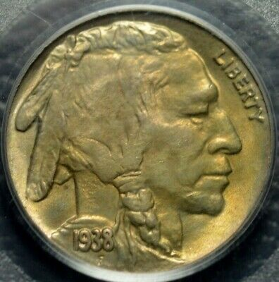 1938-D/S Buffalo Nickel PCGS MS 65 OGH CAC ( Part of complete collection )