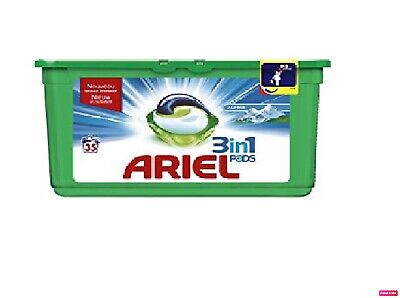 Ariel 3-in-1 Regular Liquitabs Bio Washing Detergent Cleaning Pods - 35 pods