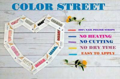Color Street 100% REAL Nail Polish Strips! Manicure/Pedicure FREE Shipping!