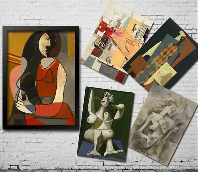 Pablo Picasso painting replica photographic paper poster Decorative paintings.