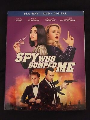 The Spy Who Dumped Me US Import Blu Ray & DVD