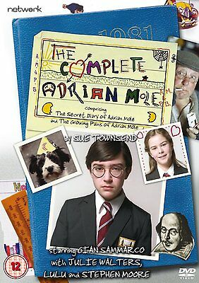 ADRIAN MOLE BBC Series 1 & 2 Complete Julie Walters  RARE DVDs!!!! R2 PAL only!!