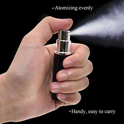6ml Refillable Perfume Atomizer Aftershave Travel Spray Miniature Bottle 5 Color