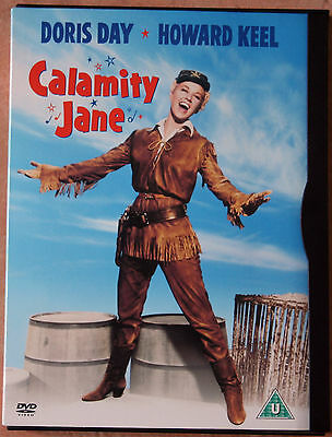 """Dvd -""""Calamity Jane"""" - 1953 (2003 Dvd Release)  - As New"""